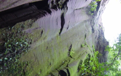 Formação rochosa existe há milhares de anos (Foto: Prefeitura de Terra Rica)