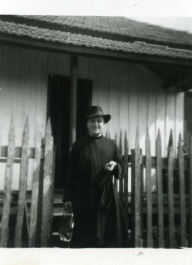 Jacobus Beck escreveu sobre Paranavaí em 1952 (Foto: Ordem do Carmo)