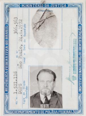 Fehérkúti faleceu com apenas 53 anos em 30 de março de 1977 (Acervo: Ordem do Carmo)