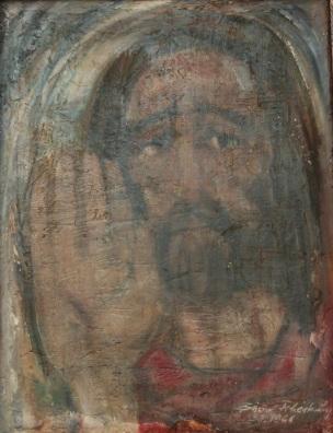 Pintura feita para a Paróquia São Sebastião em 1968 (Acervo: Ordem do Carmo)