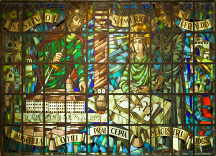 Bálint Fehérkuty também era especialista em vitrais (Acervo: Ordem do Carmo)