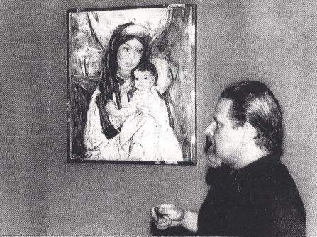 Fehérkúti produziu obras em Paranavaí entre os anos de 1966 e 1971 (Acervo: Ordem do Carmo)