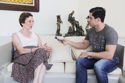 Anita vai lançar uma nova biografia sobre Luiz Carlos Prestes em maio ou junho (Foto: Amauri Martineli)