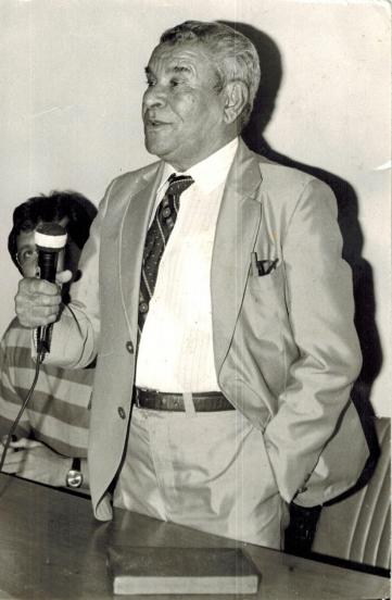 Sebastião Bem Bem foi vereador na época em que não se ganhava nada para exercer a função (Foto: Acervo Familiar)