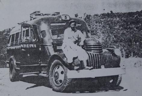 Pavão que trouxe Toninho, Beto e Maneco a Paranavaí em 1946 (Foto: Acervo da Fundação Cultural de Paranavaí)