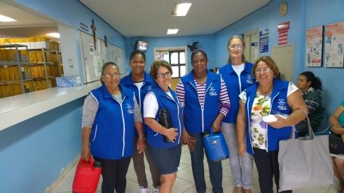 Voluntárias são unânimes em dizer que é muito gratificante e prazeroso participar do Café do Amor (Foto: David Arioch)