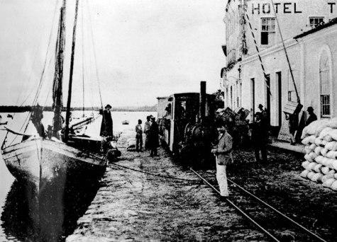 Paranaguá quando Maurício teve de fugir de casa (Acervo: Instituto Histórico e Geográfico do Paraná)