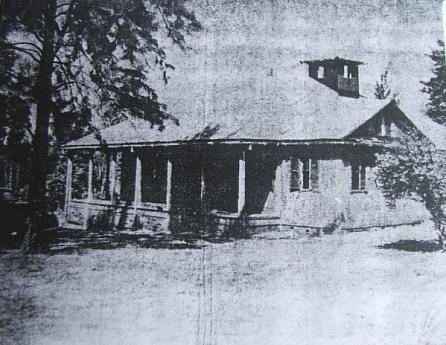Fazenda onde Urissanê vivia ficava nas imediações da velha sede da Vila Montoya (Acervo: Fundação Cultural de Paranavaí)