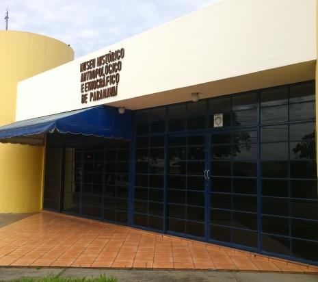 Fachada do Museu de Paranavaí que vai funcionar ao lado da Casa da Cultura (Foto: David Arioch)