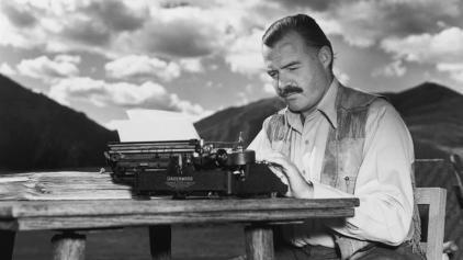 Filho escreveu carta a Hemingway dizendo como ele destruiu sua vida (Foto: Reprodução)