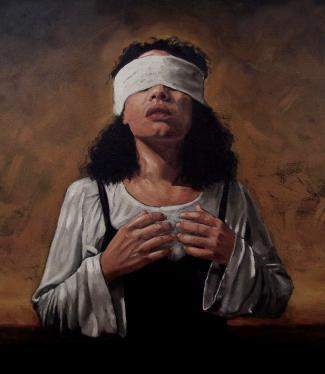 "Pintura ""Doubt"", de Ralph McDonald"