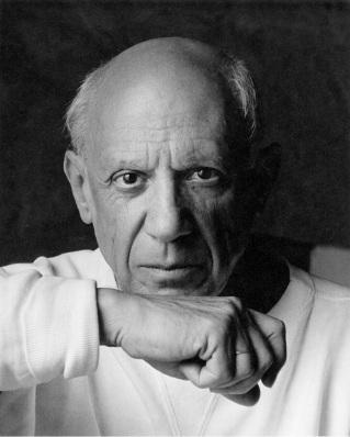 Picasso sempre chamou a atenção pelos seus relacionamentos conturbados (Foto: Arnold Newman/Getty Images)