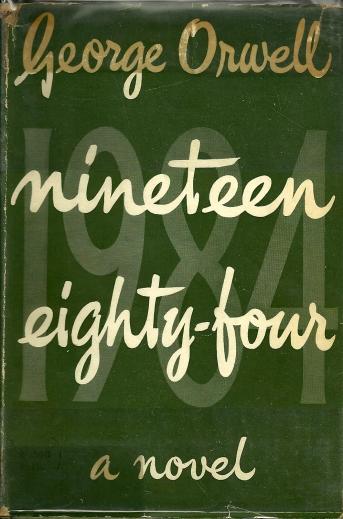 Primeira edição do livro 1984, lançado em 1949 (Foto: Reprodução)