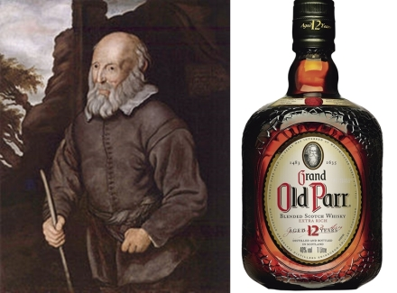 Thomas Parr viveu até os 152 anos (Imagens: Reprodução)