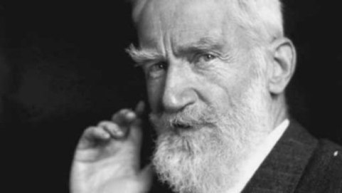 Bernard Shaw, um dos mais ilustres membros da Sociedade Vegana (Foto: Reprodução)