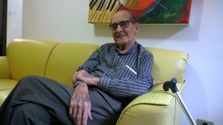 Chicão Soares trabalha como jornalista desde 1955 (Foto: David Arioch)