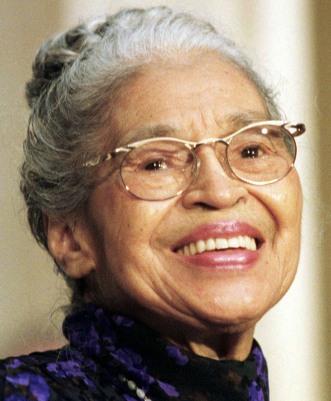"""Rosa Parks: """"Não é tão difícil ficar sem comer carne. [Me tornar vegetariana] Era algo que eu queria fazer"""""""